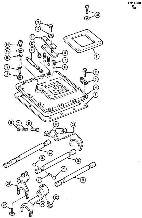 2000 Gmc C6500 Plug  Back Up Lamp  Case  Speedometer
