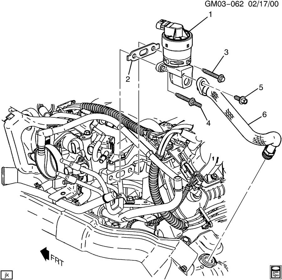buick rendevous e g r  valve  u0026 related parts