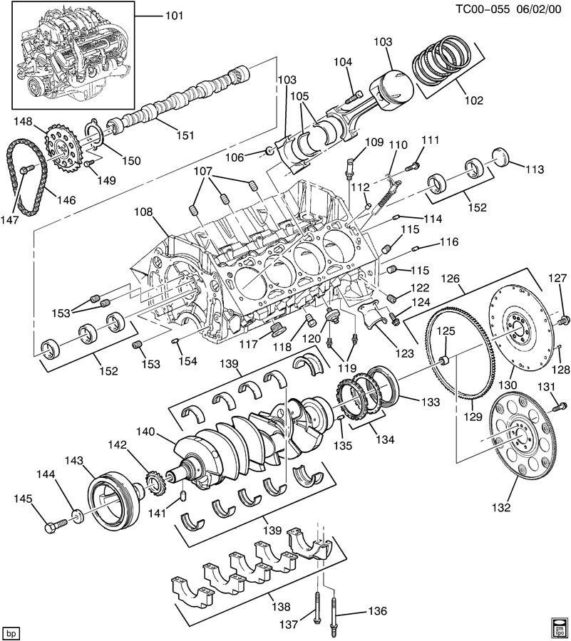 v8 engine parts labled  v8  free engine image for user