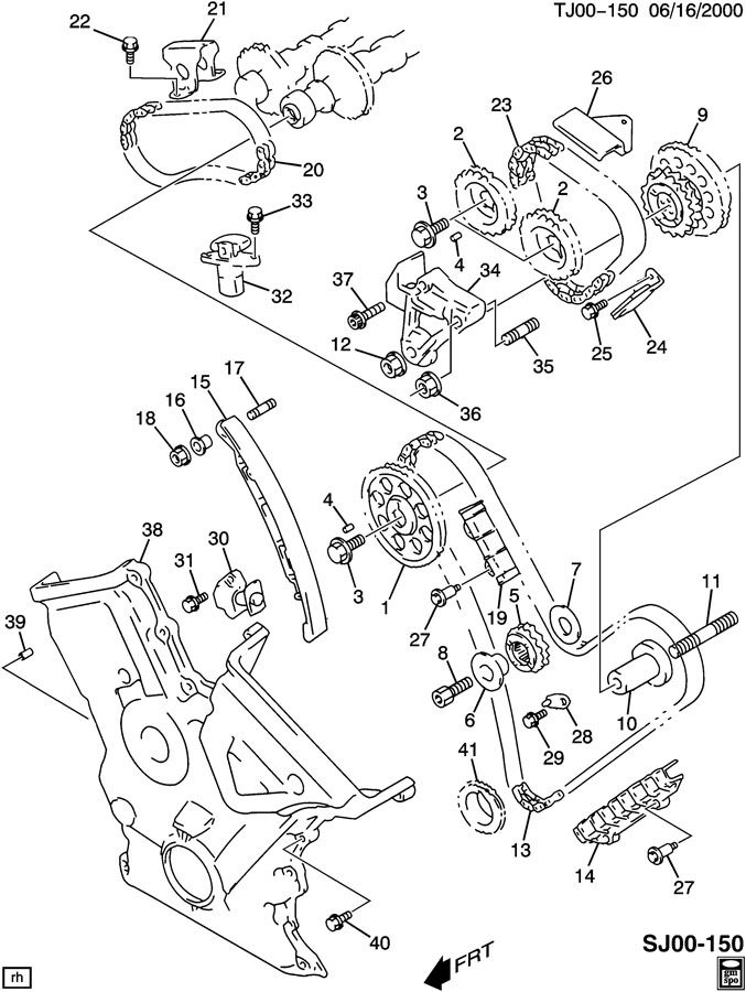 suzuki forenza engine diagram rear