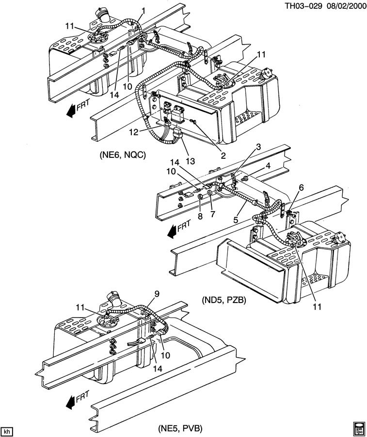 gmc c6500 parts steering diagrams