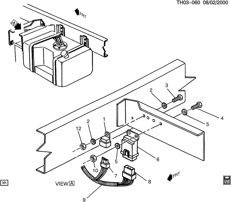 1998 Chevy C1500 Engine Wiring Diagram