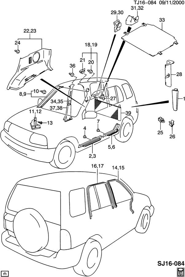 1995 Mercury Wiring Sable Engine Diagram moreover How To Fix 1995 Jeep Wrangler Trunk Latch as well 97 Geo Prizm Wiring Diagrams also How To Replace Antenna On A 2010 Bmw 3 Series besides 1996 Aeromaster Freightliner Hvac System Wiring Diagram. on 1993 geo metro interior