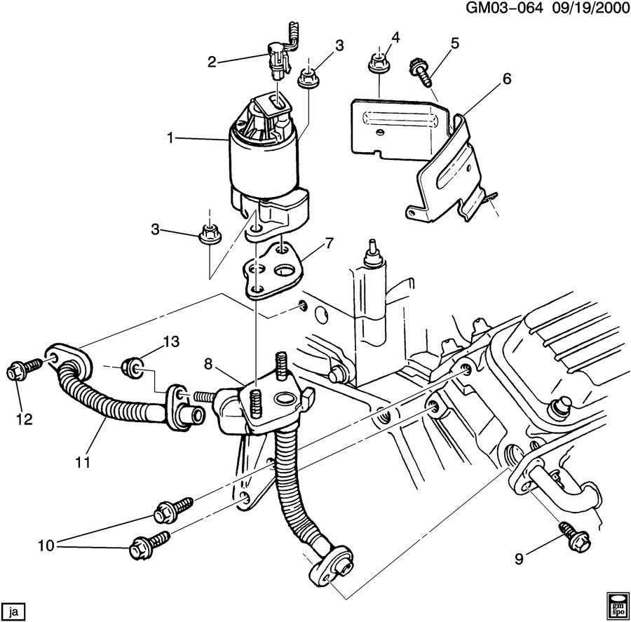 Buick Park Avenue E G R Valve Amp Related Parts