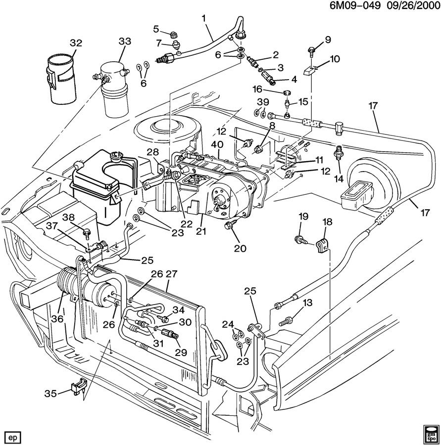 Re Ac Dim P1540 Refrigerant Over Pressure: Cadillac Ac Pressor Wiring  Diagram At Eklablog.