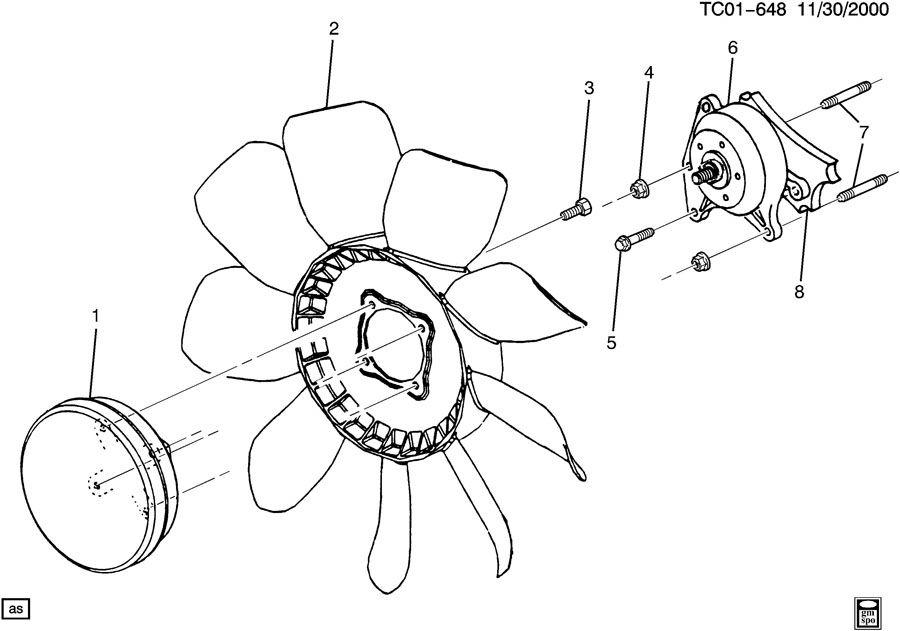 engine coolant fan  u0026 clutch