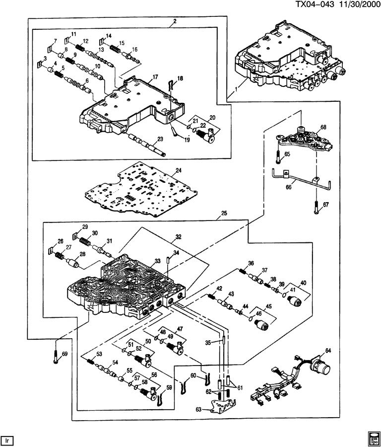 33 Allison 1000 Valve Body Diagram