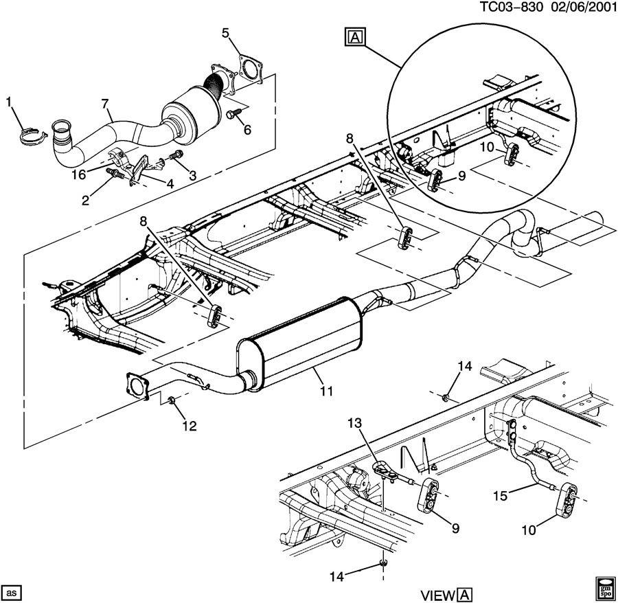 Chevrolet Silverado 2500 Converter  Catalytic Converter