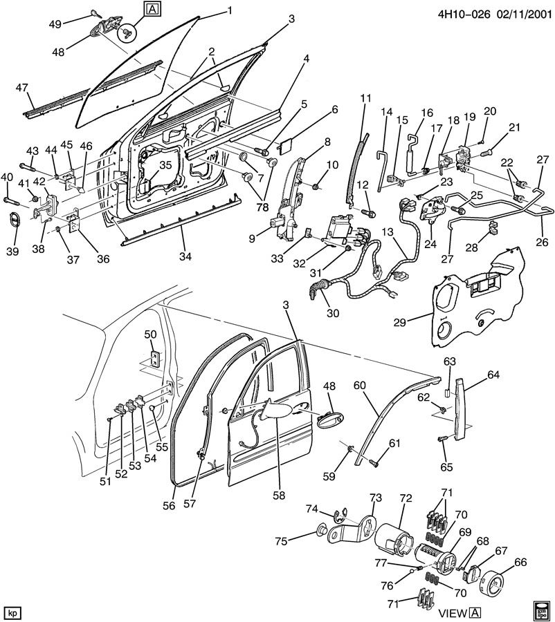 2000 Buick Lesabre Power Diagram Auto Parts