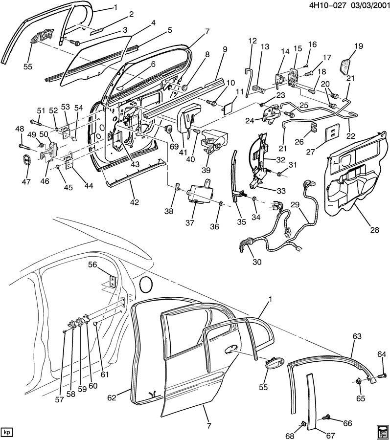 2000 Buick Lesabre Module  Door Electric And Vacuum Locks