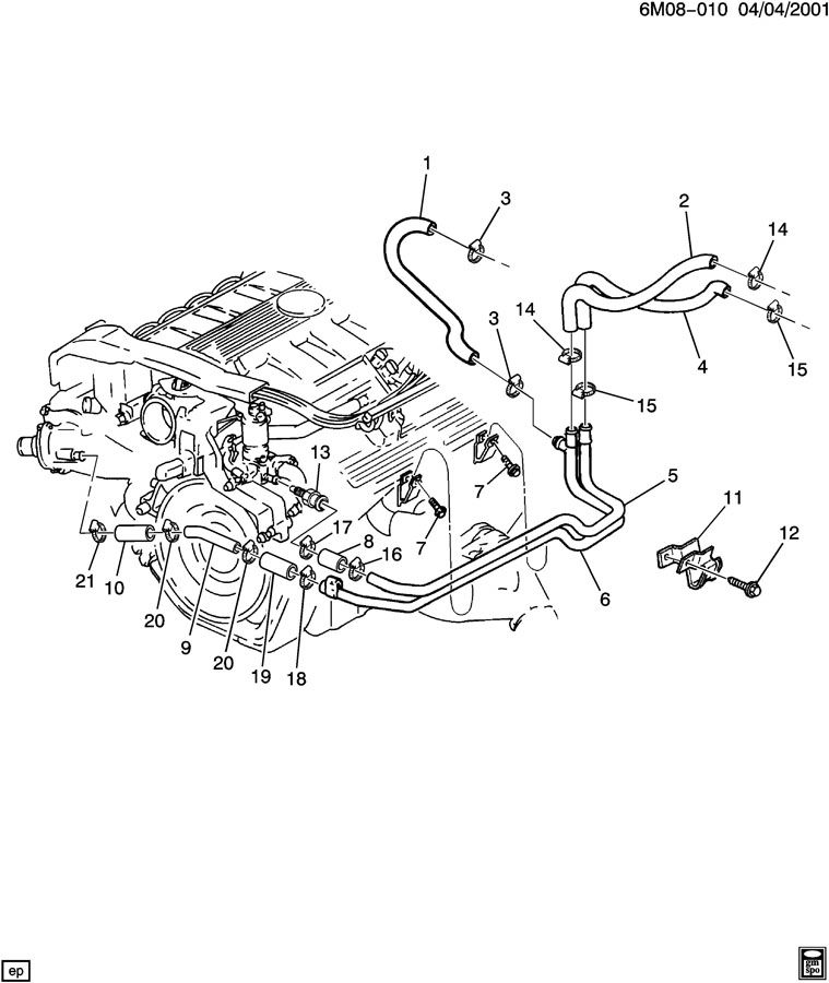 1994 cadillac deville engine diagram on northstar water