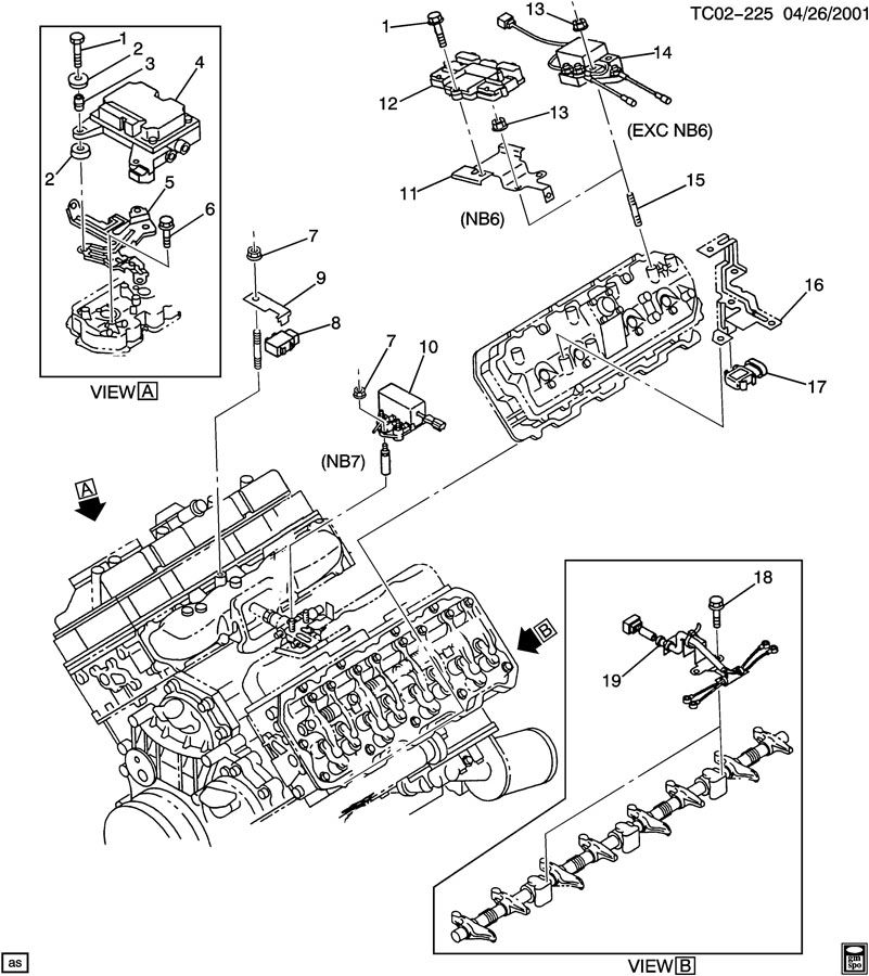 Engine Electrical  Control Parts