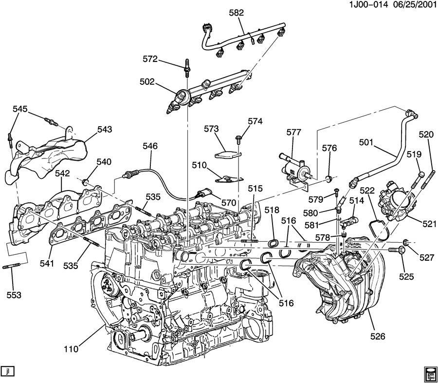 2002 Pontiac Grand Am Harness  Engine Wiring  Harness  F