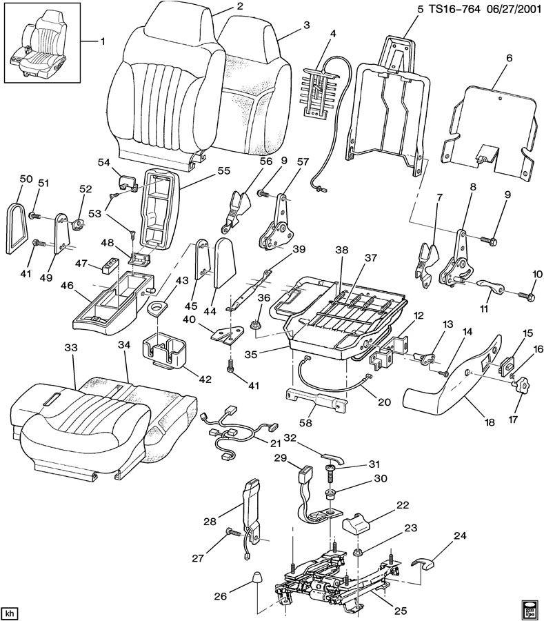 Chevrolet Trailblazer Belt Kit  Am6