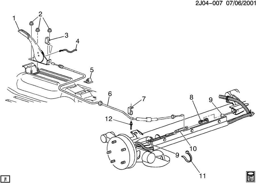 1995 eagle talon brake diagram