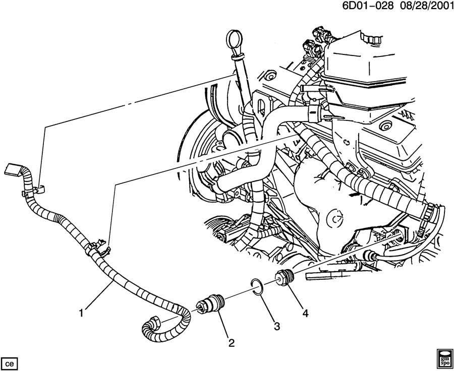 Cadillac Catera Plug  Engine Coolant Heater  Plug  Eng