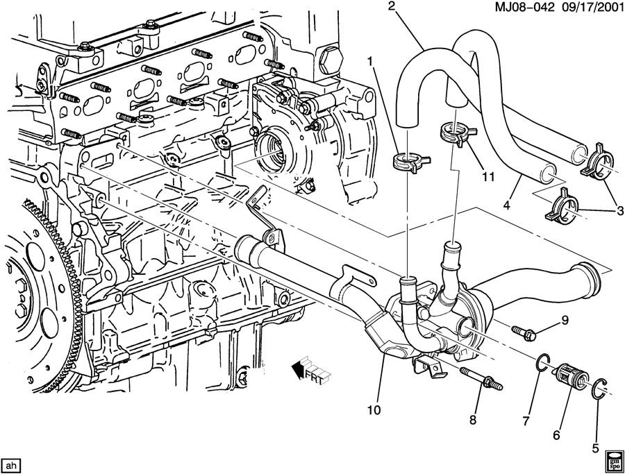 2002 Oldsmobile Thermostat Location on 2000 Vw Beetle Radio Wiring Diagram