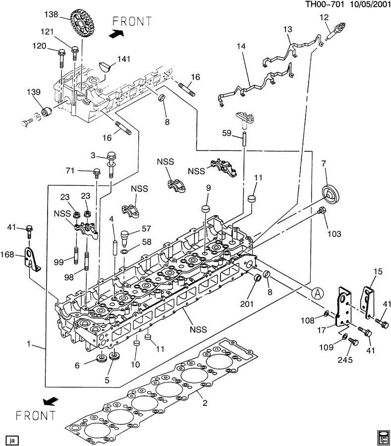 Th on 6 Duramax Cylinder Head Diagram