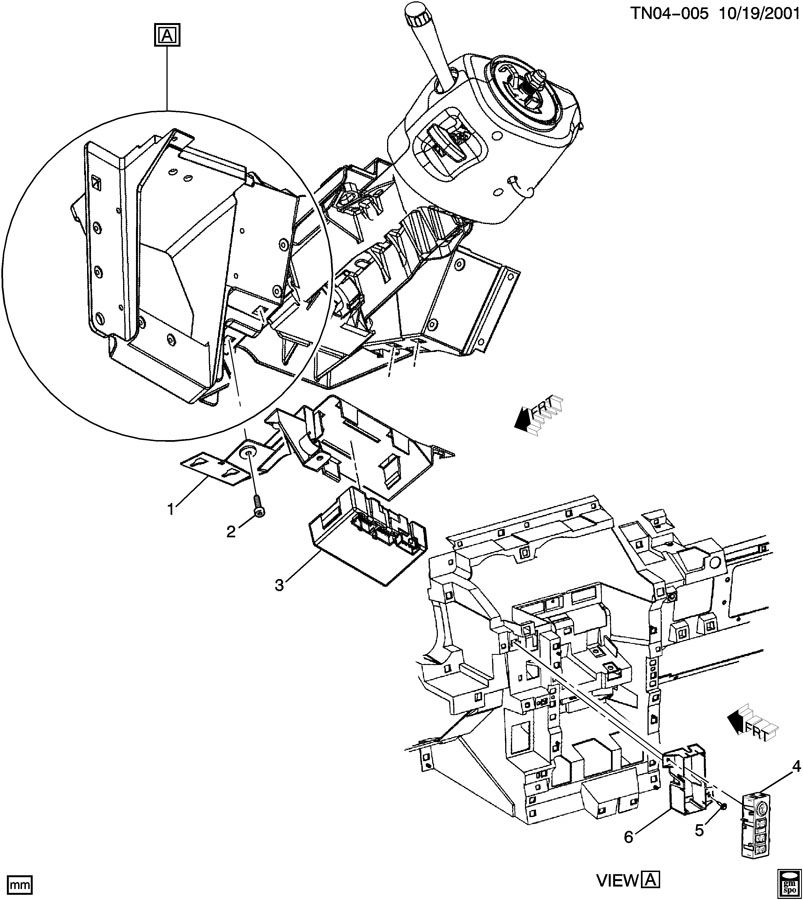 Hummer H2 Module  Transfer Case Shift Control  Module