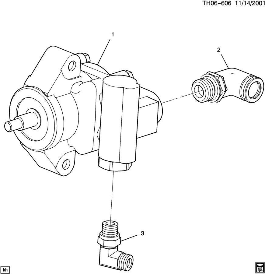 Gmc C4500 Pump  Power Steering  Pump  P  S  Pumpps
