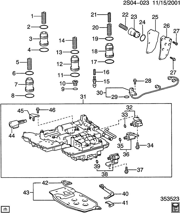 2005 pontiac vibe timing chain