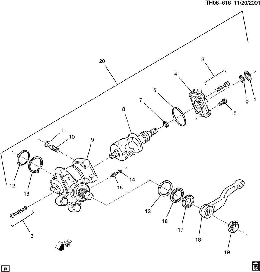 Gmc C7500 Seal Kit  Steering  Seal Kit  S  Gr Complete Seal