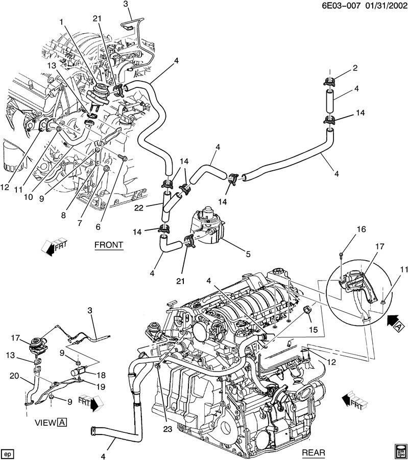 12564682 - Chevrolet Gasket. Emission control system ...