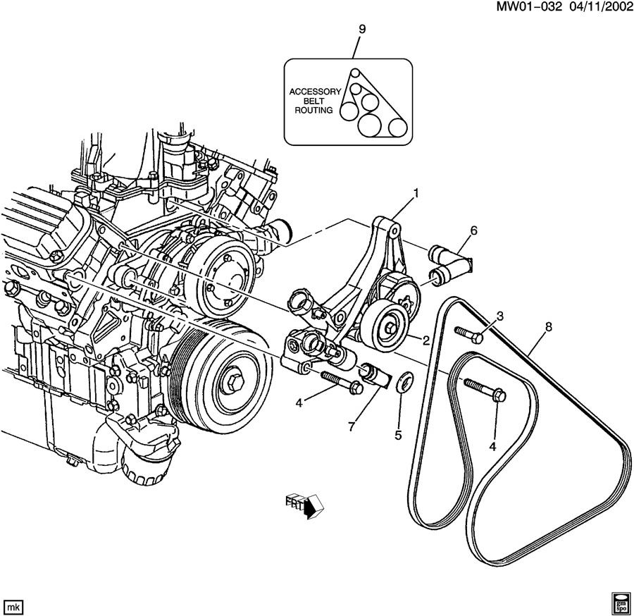 3800 series 2 v6 engine diagram