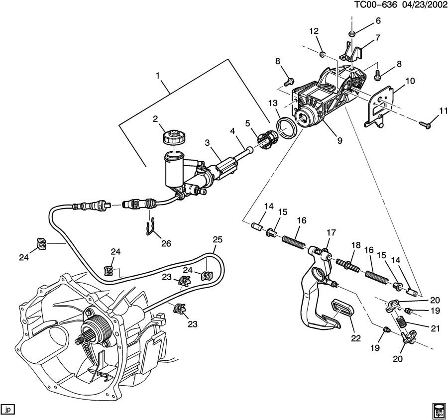 3 1l chevy engine diagram