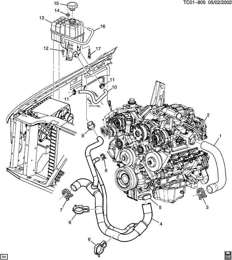 01 ram radiator diagram  01  free engine image for user