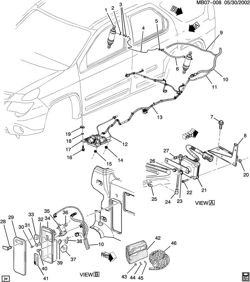buick level control system  automatic