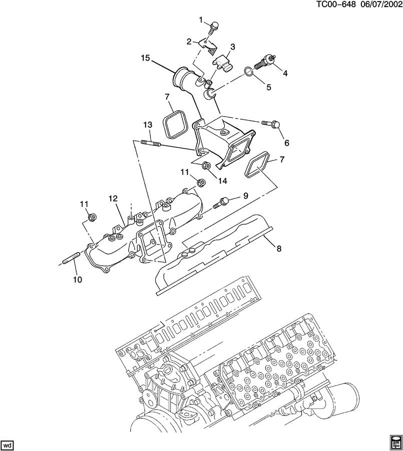 duramax lly engine diagram