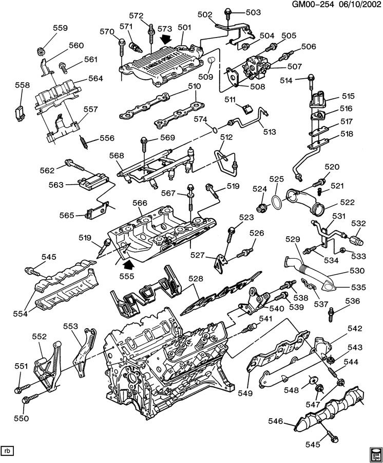 Gm 3 1 Engine Diagram