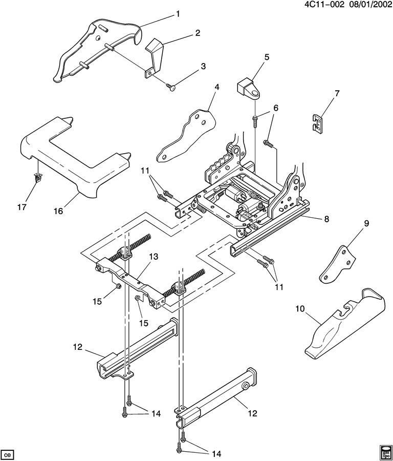 adjuster asm  seat