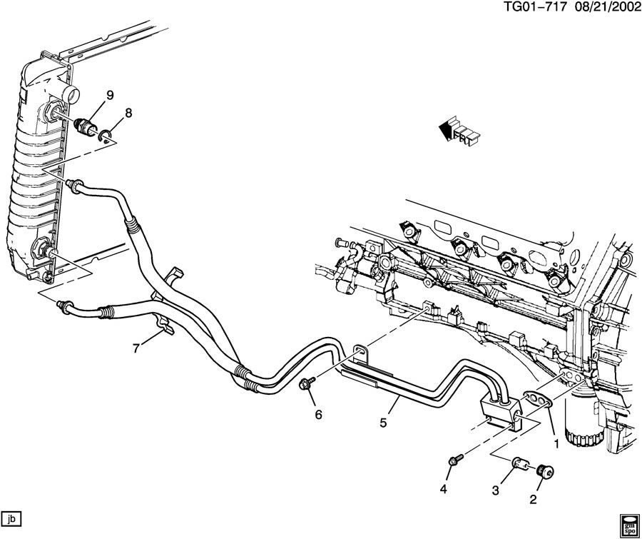 Gm 8 0l Engine on 2004 Gmc Yukon Fuel Line Diagram