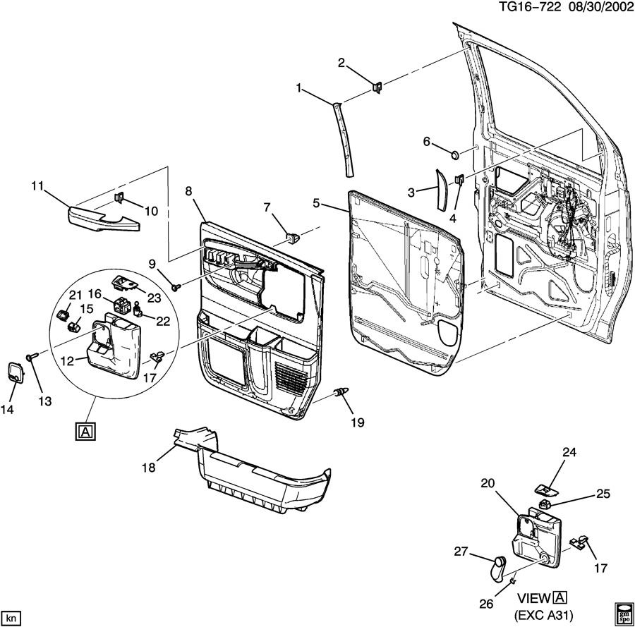 Gmc Canyon Truck Parts Diagram on 2007 Gmc Sierra Door Parts Diagram