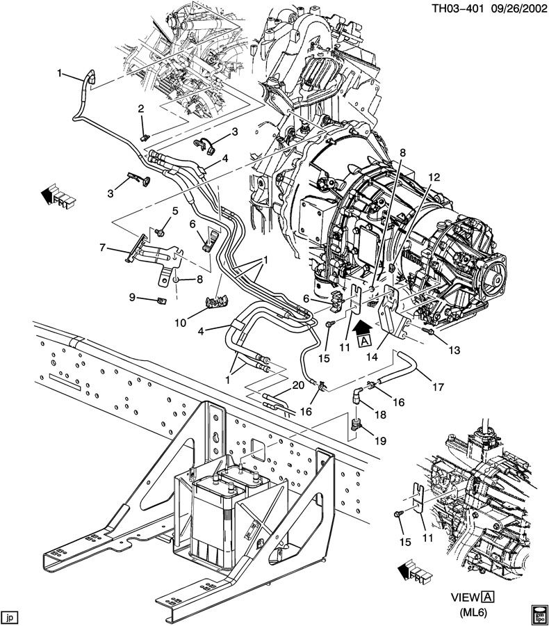 Pontiac Grand Am Fuel Supply System Front