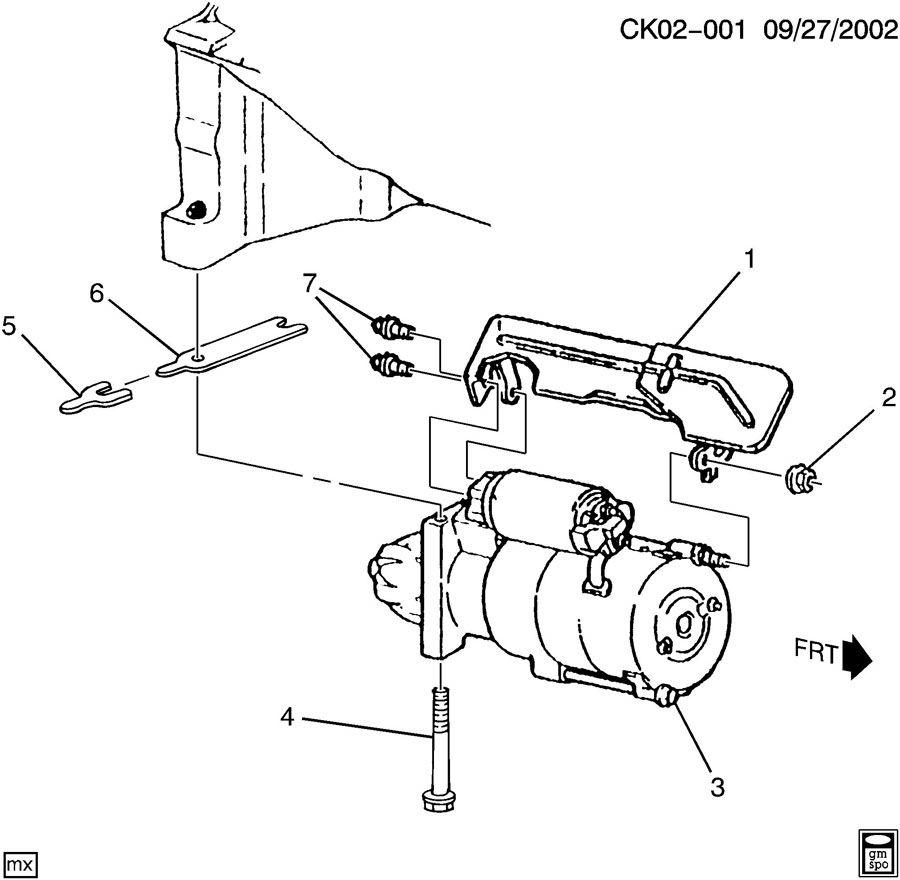 Gmc C4500 Shield  Starter Motor  Shieldstrtr  Shieldstrtrdesign