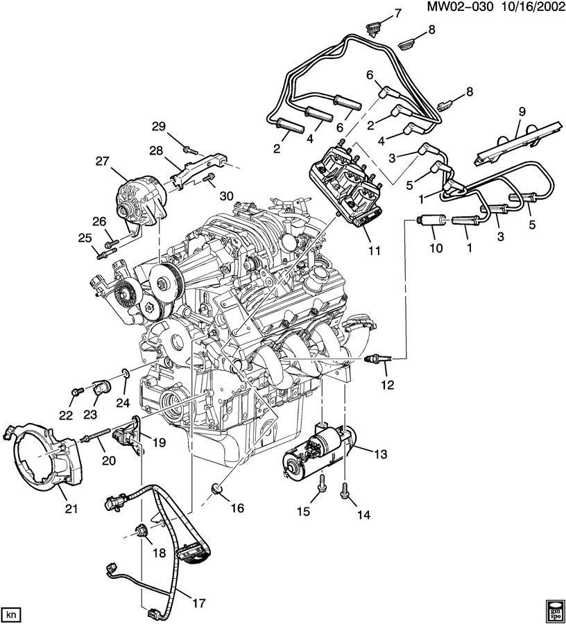 1997 Pontiac Grand Prix Harness. Engine wiring. Harness ...
