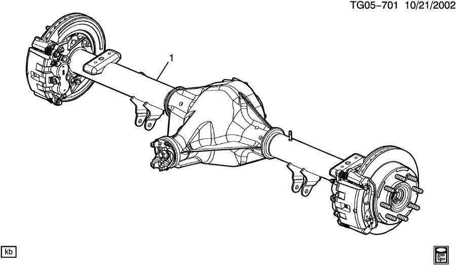 axle asm  rear