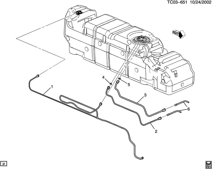 2001 Silverado 2500hd Fuel Line Diagram on 1990 volvo 240 radio wiring diagram