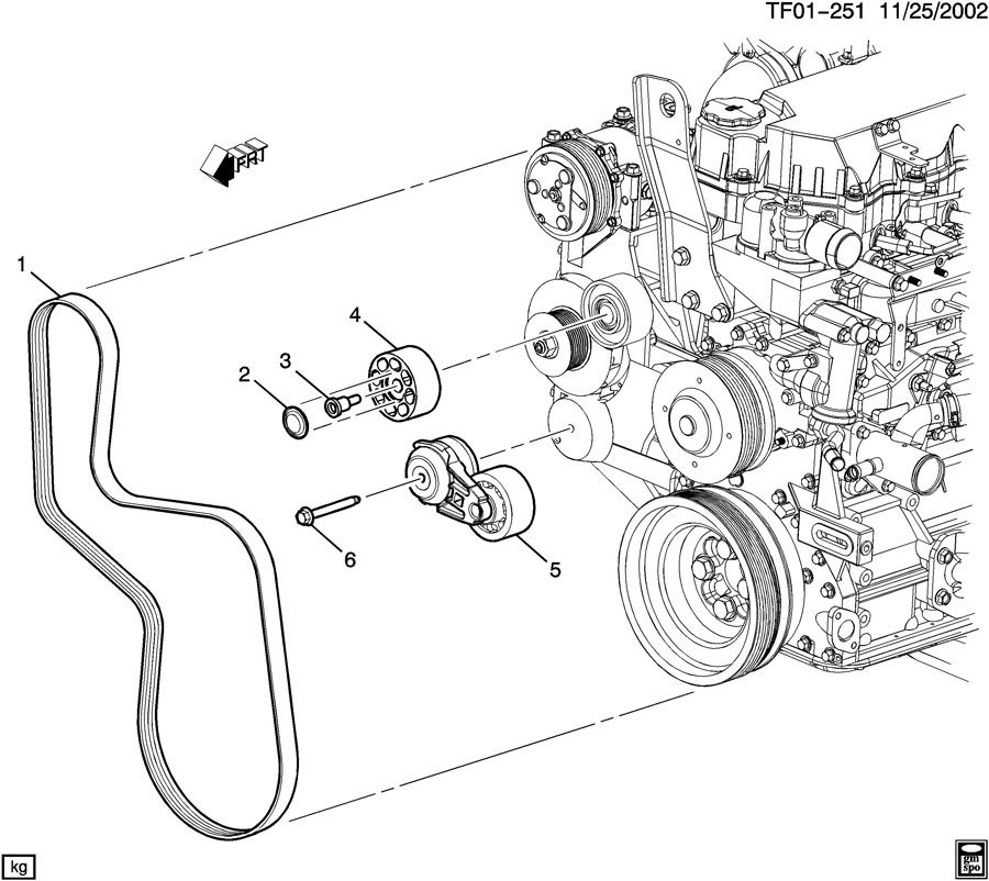 serpentine belt routing online manual