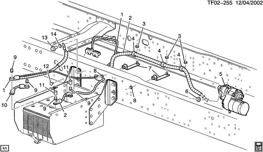 t8500 gmc parts