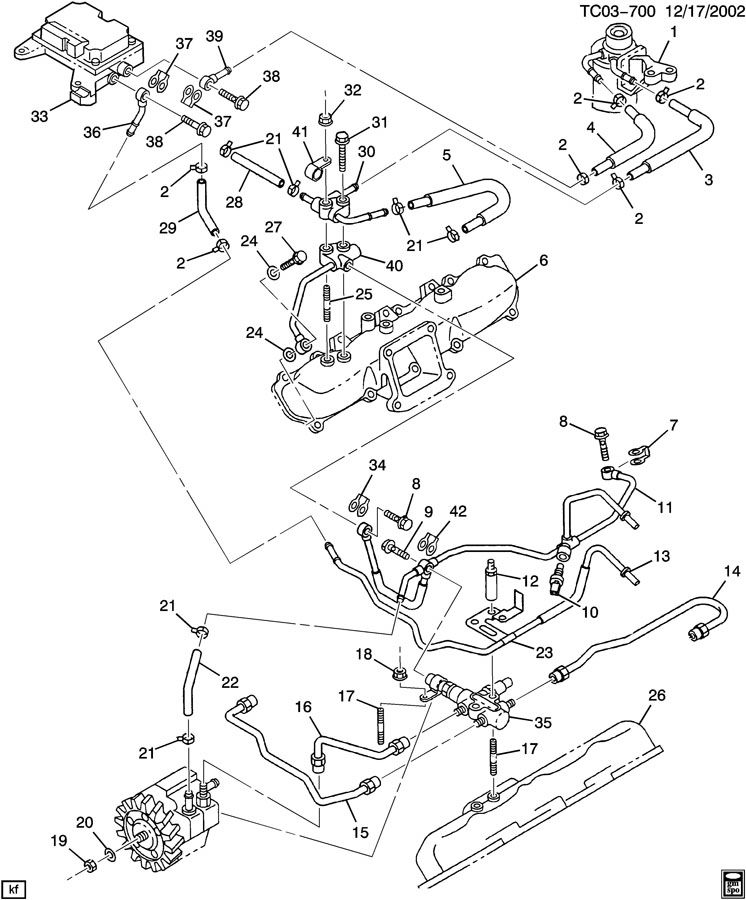 2007 Chevrolet Duramax Engine Diagram