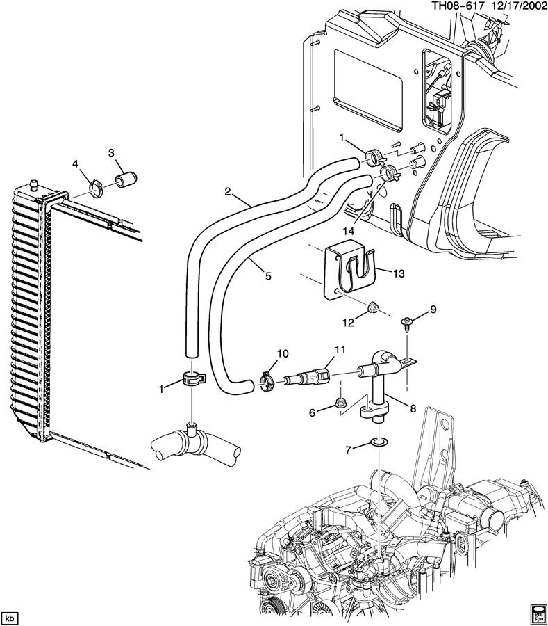 2003 ford explorer thermostat diagram