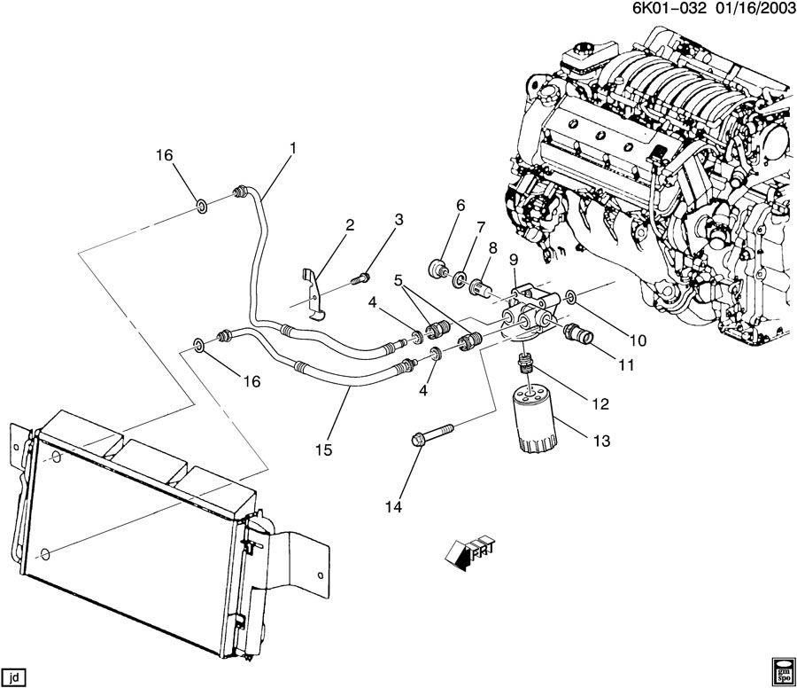 12605611 gm adapter engine oil filter adapter oil. Black Bedroom Furniture Sets. Home Design Ideas