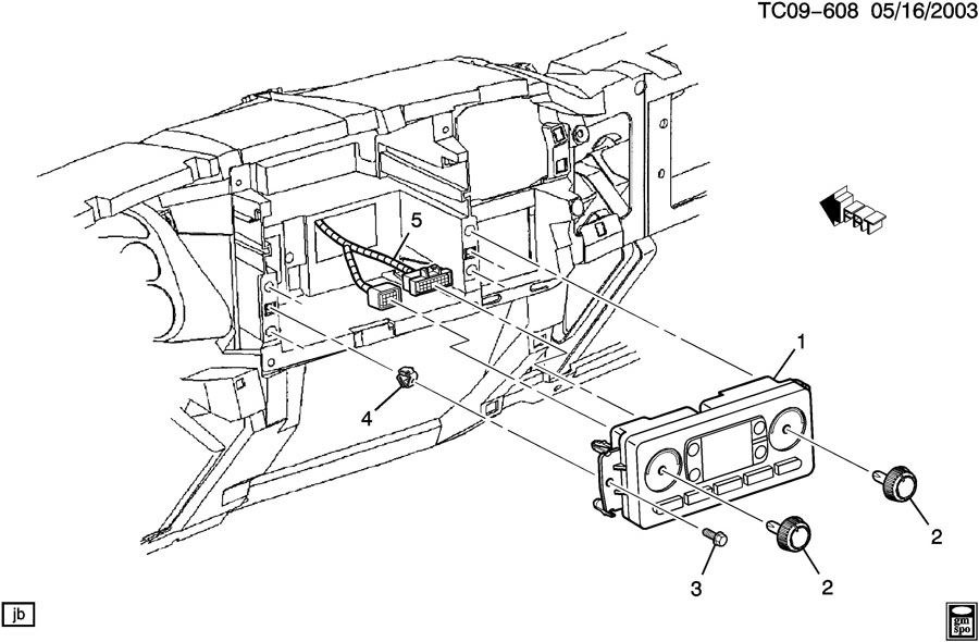 10367042  C  Instrument Panel  Rear Window Defogger