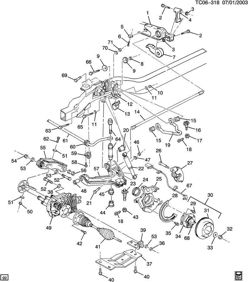 chevrolet k3500 suspension  front