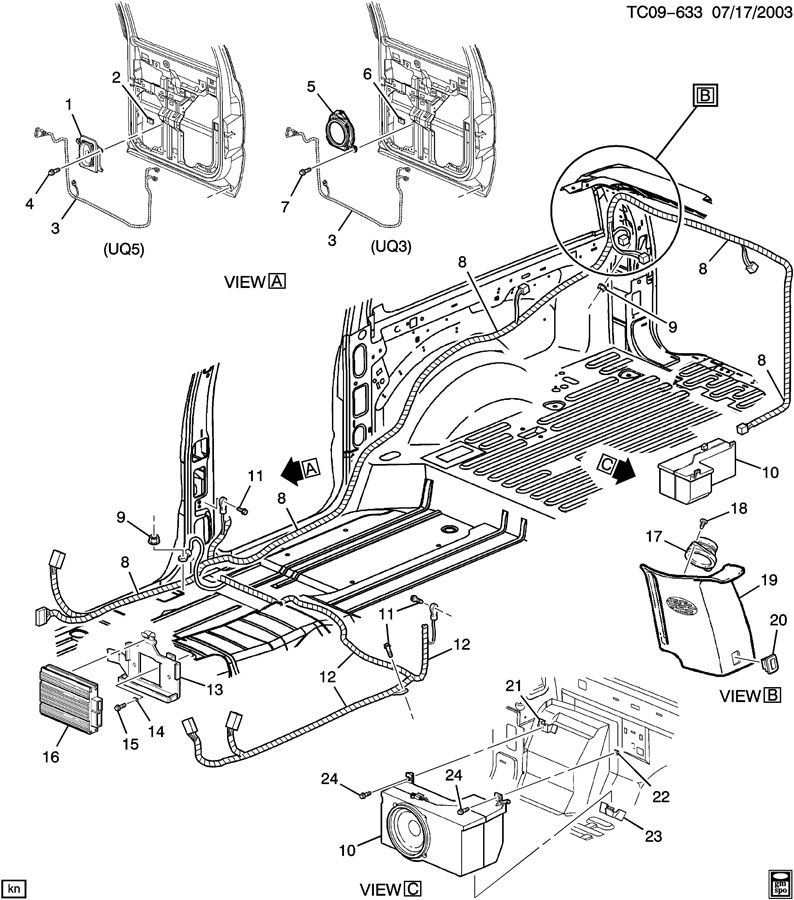 Diagram  2005 Avalanche Bose Audio System Wiring Diagram