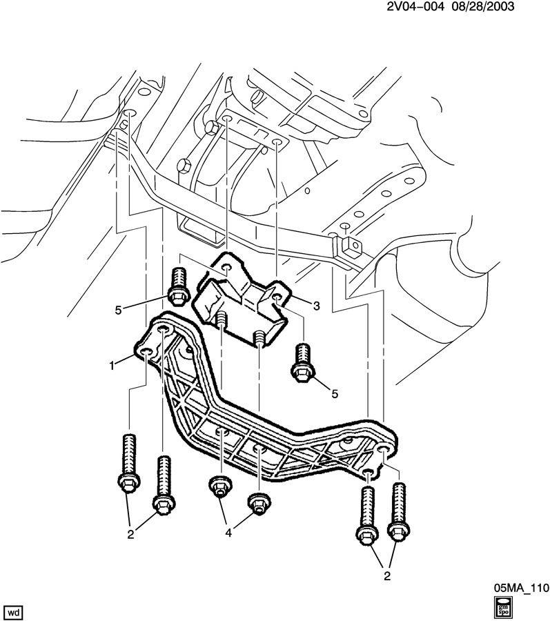 pontiac gto ls2 engine 6 0l